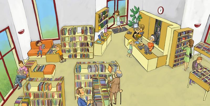 Sortie Bibliothèque PS-MS